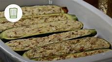 Rezept Gefüllte Zucchini - gef 252 llte zucchini vegetarisch chefkoch de