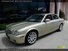 Winter Gold 2009 Jaguar Xj Xj8 Barley Mocha Interior