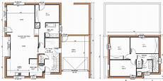 plan maison moderne étage excellent plan maison moderne tage complet gratuit 10 de