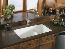 Kitchen Counter With Sink by 37 Kitchen Sinks For Granite Countertops Granite