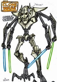 Malvorlagen Wars General Grievous General Grievous Drawing Free On Clipartmag