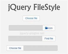 jquery filestyle jquery plugin to create custom file