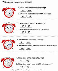 time difference worksheets 2972 read clock and find time difference worksheet turtle diary