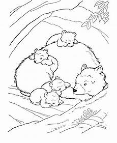 free printable coloring pages hibernating animals 17014 brown coloring page bears unit study five in a row another celebrated