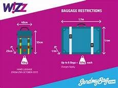 cabin baggage wizzair 2017 wizz air baggage allowance for luggage hold