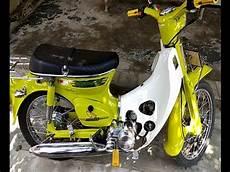 Modifikasi Motor Honda C70 by Modifikasi Motor Honda C70 Ala Valentino Dengan