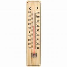 thermomètre extérieur intérieur thermom 232 tre int 233 rieur ext 233 rieur en bois 22cm achat