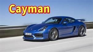 2020 Porsche Cayman Gt4  Redesign