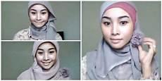 Cut Iswahyuni Menggunakan 1 Jilbab Segi Empat Untuk