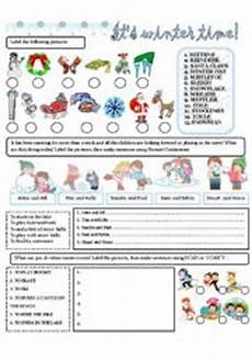 winter vacation esl worksheets 19994 winter worksheets