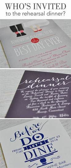 Who Is Invited To The Wedding Rehearsal Dinner who s invited to the rehearsal dinner invitations by