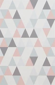 Vliestapete 218183 Hej Geometrisch Grau Rosa In 2019
