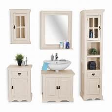 Waschtisch Weiß Holz - sale badm 246 bel set 5tlg waschtisch 70 cm holz wei 223 toledo