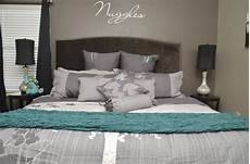 Aqua And Grey Bedroom Ideas by 17 Best Images About Grey And Turquoise Bedroom On