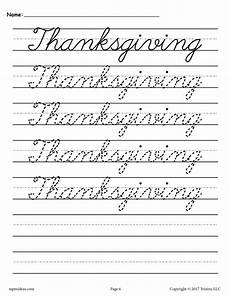 cursive handwriting practice worksheets free 21709 10 free cursive handwriting worksheets seasons and holidays supplyme