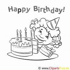 Ausmalbilder Geburtstag Gratis Geburtstag Ausmalbild Gratis