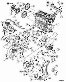 ford 2 0 engine diagram alldatadiy 2001 ford zx2 l4 2 0l dohc vin 3 lower end
