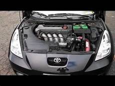 how cars engines work 2001 toyota celica spare parts catalogs black 7th generation toyota celica gt s youtube