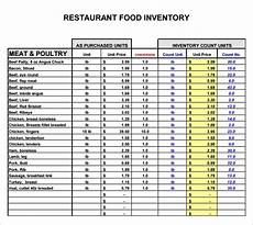 free 13 restaurant inventory sles in pdf