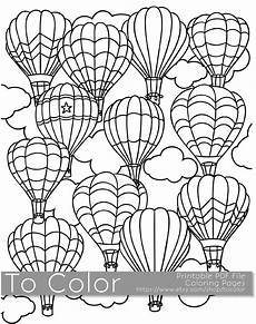 printable hot air balloon coloring page for adults pdf jpg