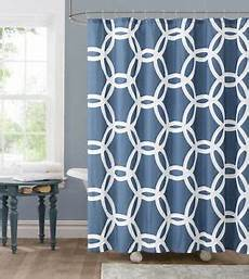 Navy And Teal Curtains by Honey Circle Navy Blue Teal White Fabric Shower Curtain