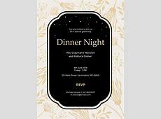 13  Team Dinner Invitations   JPG, Vector EPS, Ai