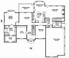 european style house plan 5 beds 4 baths 4500 sq ft plan