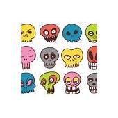 Cartoon Skull Collection — Stock Vector &169 Fizzgig 10262784