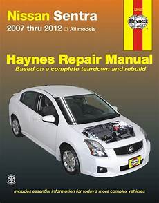 chilton car manuals free download 2008 nissan sentra lane departure warning nissan sentra repair manual 2007 2012 haynes best price