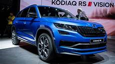 Skoda 7 Sitzer - skoda kodiaq rs lands in as fastest 7 seat suv at