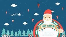 merry christmas greeting card big santa claus vector premium download