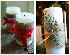 candele decorate per natale candele natalizie decorate fai da te the house of