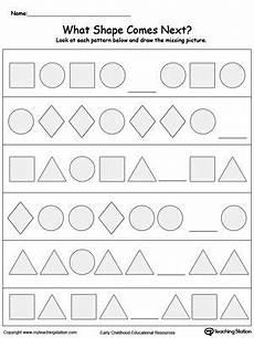 identifying patterns worksheets for grade 1 123 what shape comes next pattern worksheet pattern worksheets for kindergarten math patterns