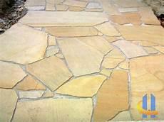 polygonalplatten garten terrasse pflastern gartenweg