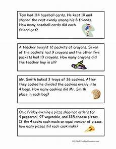 two step word problems worksheet 3rd grade 11396 4th grade number math word problems math words math story problems
