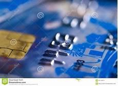 il credito della chiuda su della carta di credito con il chip
