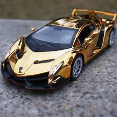2016 hot tyrant gold plated version poison explosion models cool sports car alloy car models 1