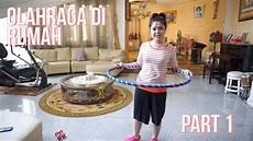 olahraga hula hop perut kecil singset part 1 youtube
