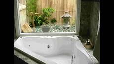 badezimmer mit whirlpool nature ideas for eco friendly toilet bathroom design