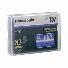panasonic mini dv cassette panasonic 83 minute professional quality mini dv digital