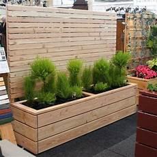 Sichtschutz Terrasse Pflanzkübel - tolle ideen f 252 r modernen wandschmuck garten pflanzk 252 bel