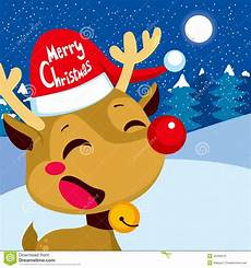 merry christmas rudolph stock vector illustration of clip 45290070
