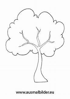 Malvorlagen Herbst Baum Baum Zum Ausmalen Newtemp