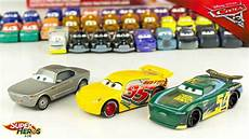 3 Voitures Disney Cars 3 Ramirez Rust Eze Sterling