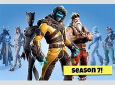 Fortnite Season 7 skins: Starter Skins, Battle Pass Tier
