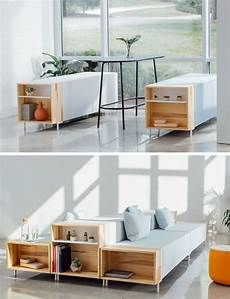modular home office furniture this modular office furniture has open wood boxes on the