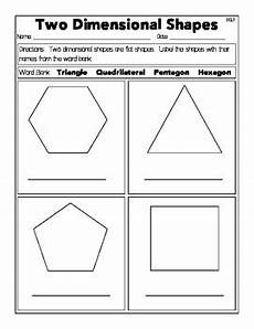 d shapes worksheets 1092 two dimensional shapes worksheets by the cutesy class tpt