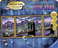 Malen Nach Zahlen Ausmalen Ravensburger Ravensburger Malen Nach Zahlen 187 Skyline New York