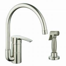 kitchen faucet grohe grohe eurostyle single handle single standard kitchen faucet with side spray reviews