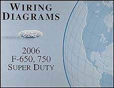 2006 Ford F650 F750 Medium Truck Wiring Diagram Manual